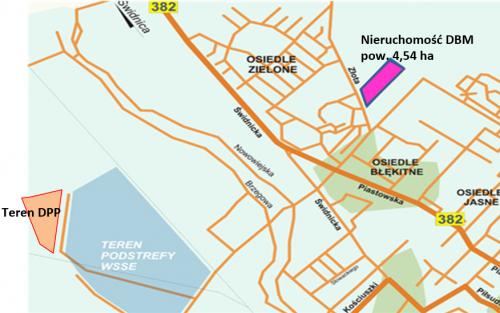 Dzierzoniow_mapa