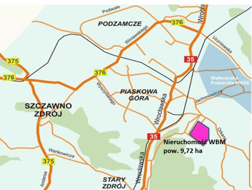 Walbrzych_mapa