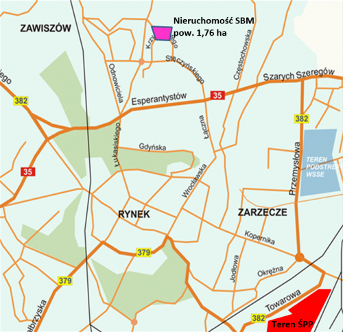swidnica_mapa